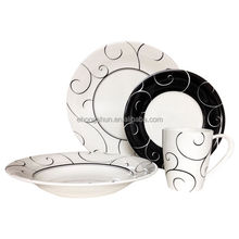 made in poland china dinnerware, porcelaine 16pcs dinner sets