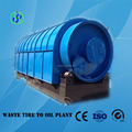 10 tons waste tyre recycling to oil machine pyrolysis plant