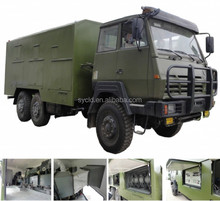 6X6 military truck with generator used in army
