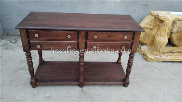China Wholesale Vintage Hand-made hobby lobby console table
