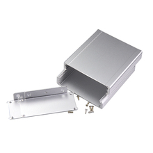 customized aluminum enclsoure with wall mounted panel metal enclosure for circuit board