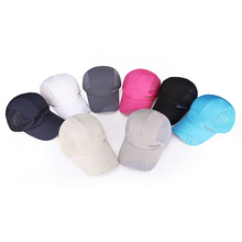 Wholesale cheap lightweight quick dry sports fitted cotton logo plain custom baseball cap