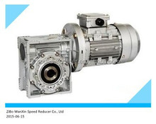 NMRV worm drive gearbox gear motor for belt conveyor drive design