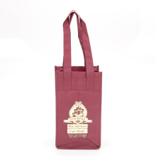 Wholesale 4 Bottle Non Woven Red Wine Bag