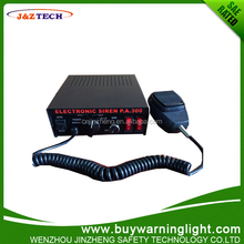 Electric siren fire alarm amplifier horn 8tones electronic motorcycle police siren