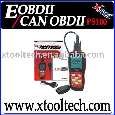 [PS100] OBD2 Auto system test tool free update latest software
