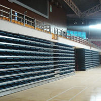 Automatic Folding Seating Retractable Grandstand System