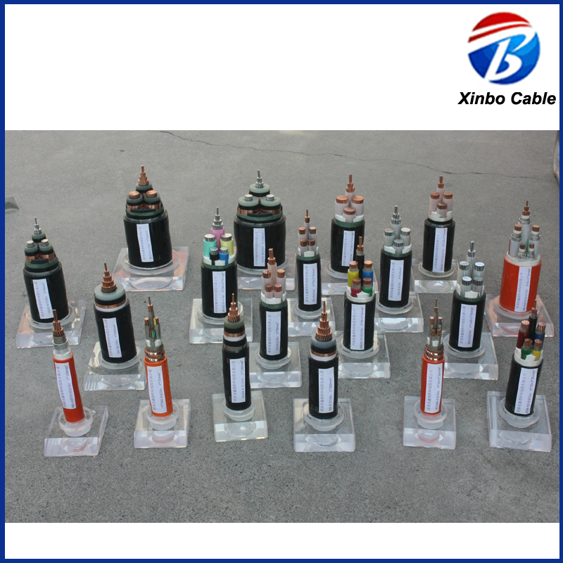 Copper Conductor Low Voltage electric Power Cable