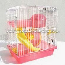 Luxury and functional small pink hamster cage