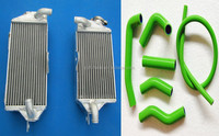 Motorcycle For YAMAHA YZF250 YZF 250 YZ250F 07 08 09 2007 2008 2009 Aluminum Radiator and hose