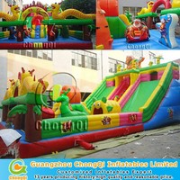 Dragon giant amusement park inflatable for sale