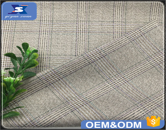 2017 NEW Woven Technics Polyester Fabric for Men's Suit TR Casual Suiting Fabrics Cloth Material for Wholesale