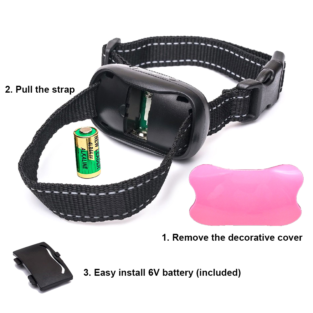 Amazon top seller pet supplies anti barking  dog  collar no shock