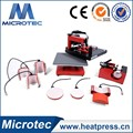 Popular Hot selling Combo Swing Transfer Heat Press Machine Price