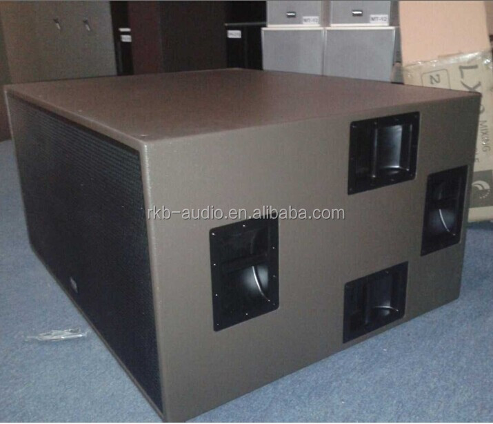 "LA-218 2x18 ""Pro Sound Subwoofer/big bass speaker"