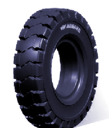 750-15 750x15 industrial forklift solid rubber wheel tire