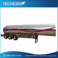 3 Axles Aluminium Alloy Oil Tank