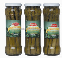 2016 Crop / Canned Green Asparagus Spears in tall glass jars 370ml choice quality