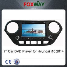 7'' 2 din touch screen car multimedia player for hyundai grand i10 2014 with car dvd gps navigation/radio/usb/sd/bluetooth