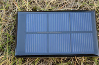 Custom made 1.5V 0.75W PET mini solar panel