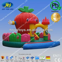 red apple jumper inflatable castle toys