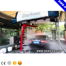Dericen automatic steam mobile car washing machine less labour semi automatic car wash machine with CE certification for cars