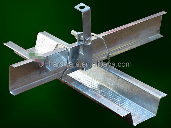 wholesale timber construction ceiling aluminum connector frame