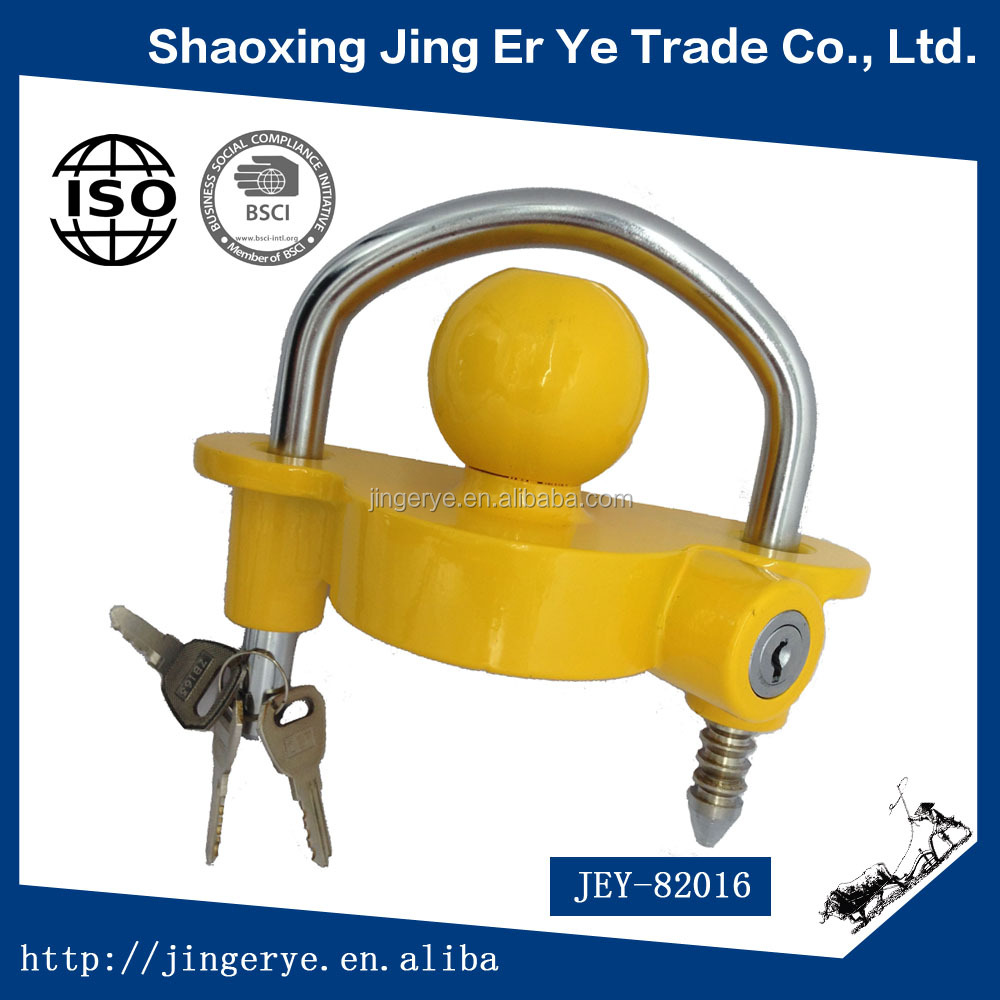 Manufactory universal Trailer Hitch Coupler Lock,trailer ball lock
