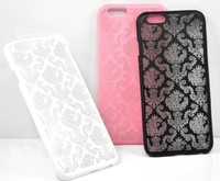 New stylish 100% fit to the phone perfectly laser carving phone case for apple iPhone 6 4.7''