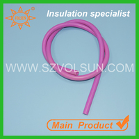 1mm Medical Grade Acid Resistant Colored Silicone Rubber Tubing