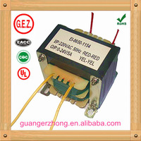 EI 86 series 50.0va to 120.0va ac variac transformer