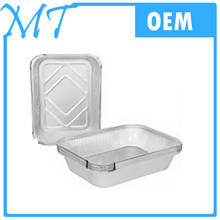 100 recycled disposable aluminium foil food trays / aluminium foil container / foil manufacturer cheap price