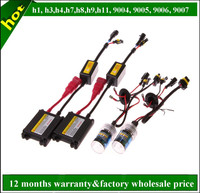 New Car Accessories H1 H3 H7 H11 H13 H16 9004 9005 9006 9007 H4 Canbus HID Xenon Kit 100w 75w 55w 35w slim ballast hid kit