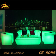 modern sofa furniture , night club plastic sofa set,glow led sofa