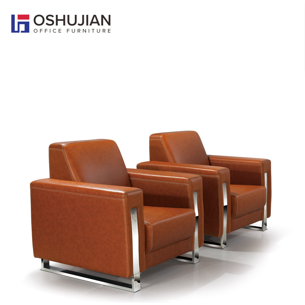 office furniture new design leather modern office sofa