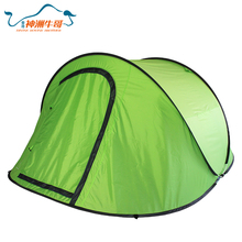 Single Layer 2-3 Man Multifunction Pop up Beach Tent