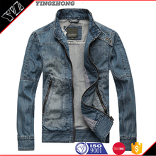 2016 Hot sale New Style Jacket Cotton Coat Men Slim Mens Jeans Jacket For Wholesale High Quality Men Denim