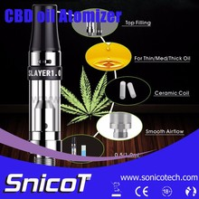 Best Quality Dual Coil Glass Tube Electonic Cigarette Wholesale