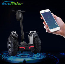 EcoRider Factory E8-2 China Electric Chariot, Two Wheels Electric Self Balancing Scooter with App Function