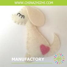 fashion best seller hanging white dog made in china with high quality