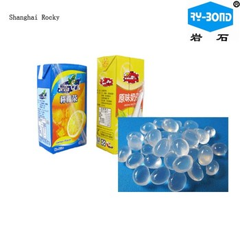 hot melt glue for straw fixing, carton sealing, box closing