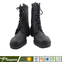 Custom made high gloss men jungle military tactical boots