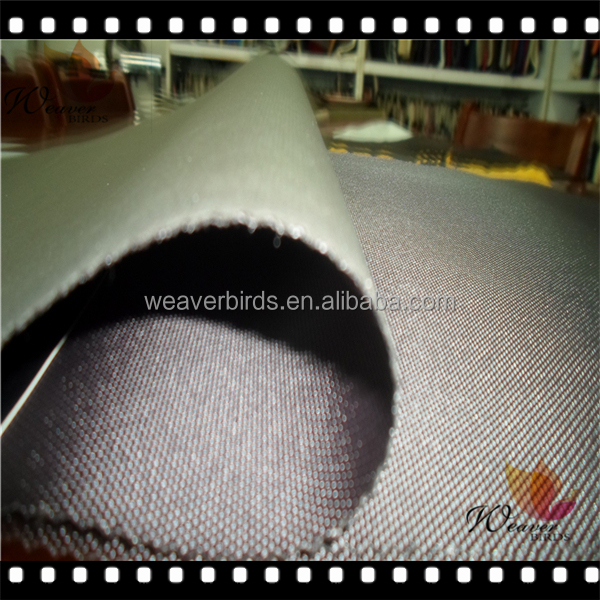 100% polyester 600d FDY oxford fabric laminated with EVA sheet for bags
