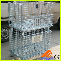 contenitori per rifiuti metallici,intermediate bulk containers for sale, metal rack with wheels parts storage
