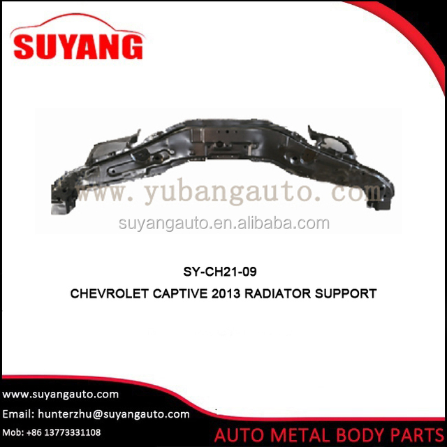 Aftermarket radiator support for chevrolet captiva body parts
