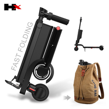 Fashionable HX electric scooter kick bike folding mobility e scooter