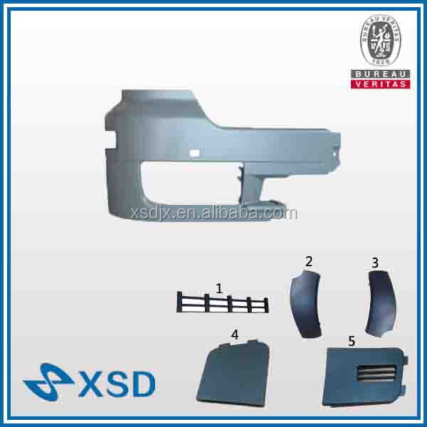 heavy truck body spare parts auto bumper corner