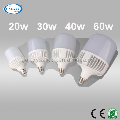 Made in china led bulb manufacturing high lumen E27 40W high power led aluminum bulb