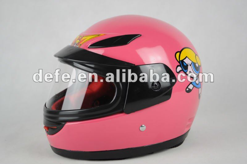 DOT Standard Girl Full Face Helmet DF-221