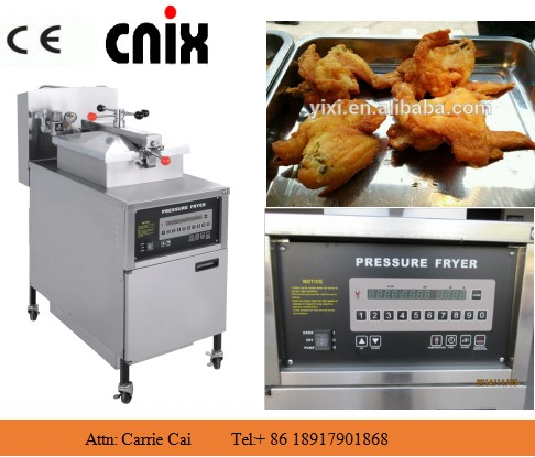 CE manufacturer chicken pressure fryer wholesale/chicken wings machine